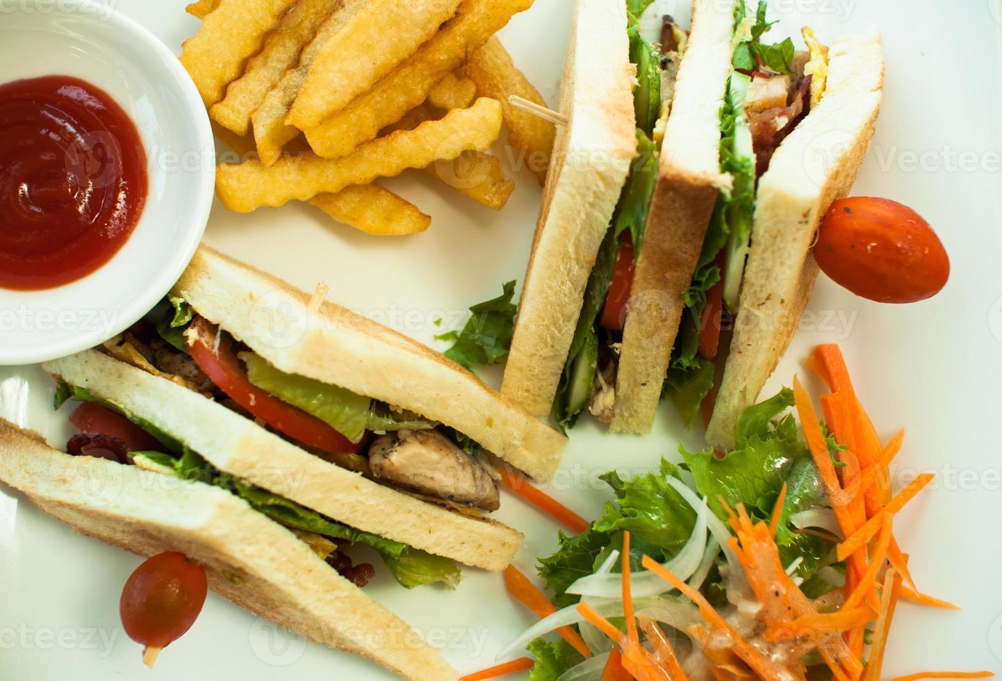 Sandwich dish photo