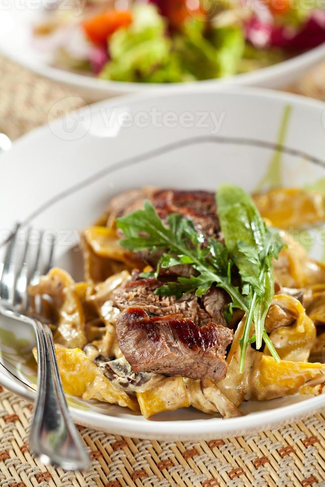 Pasta with Meat photo