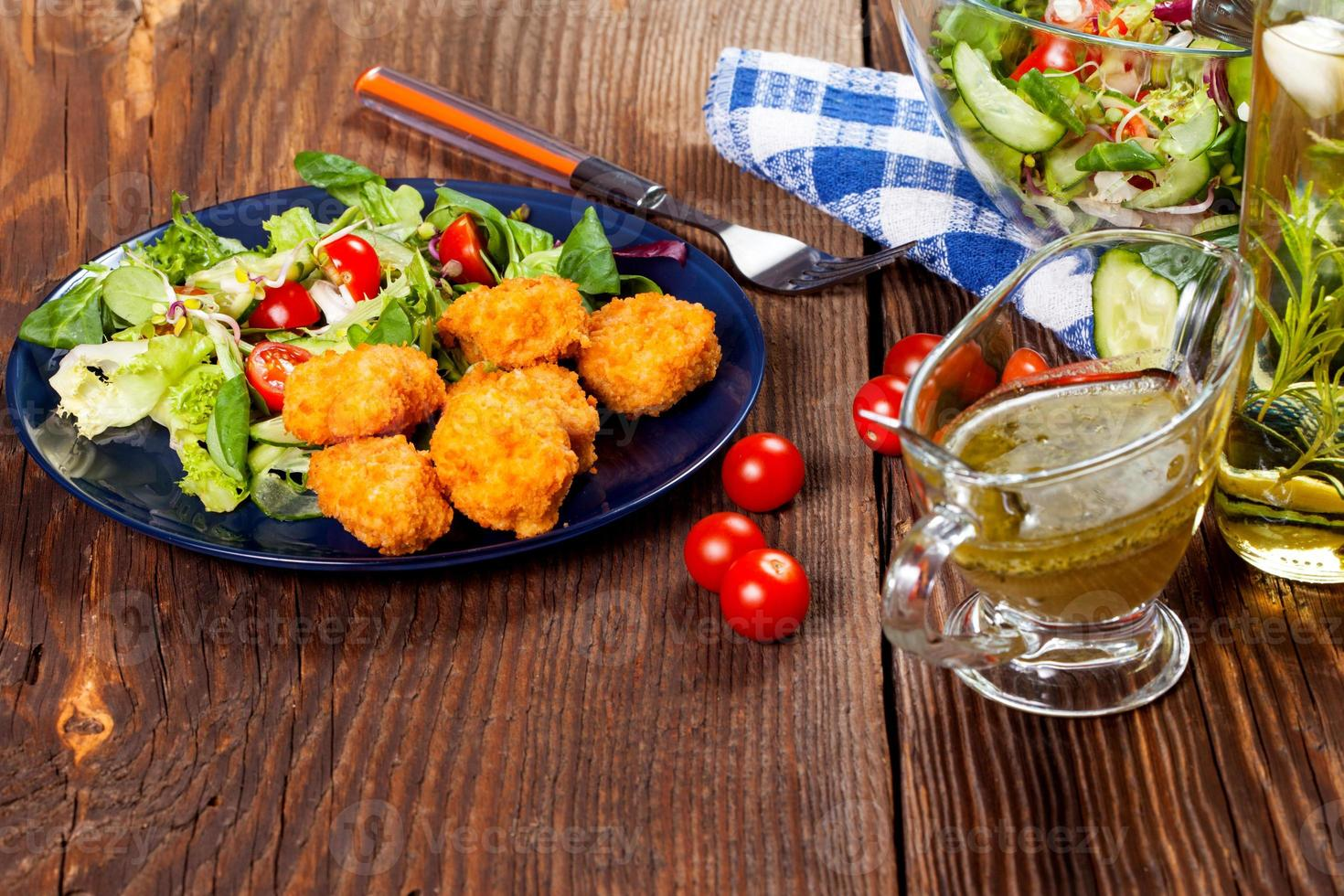 Mixed salad. photo