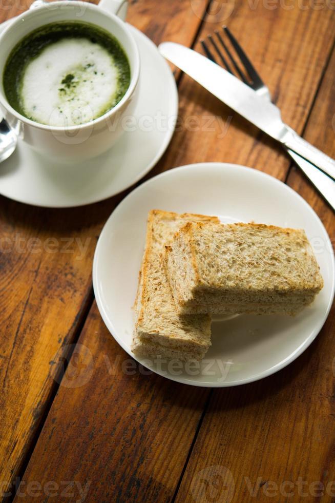 Old San Leibowitz tuna bread dough. photo