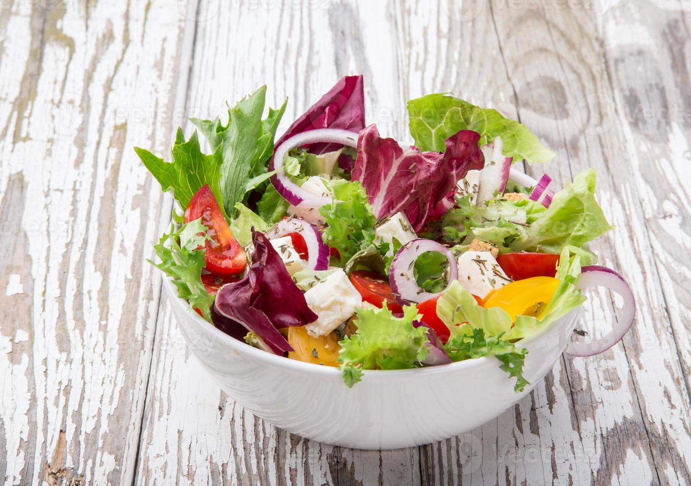 salada saborosa fresca foto