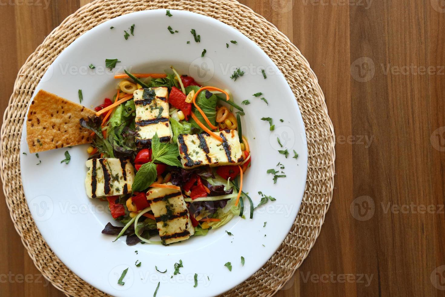 Chicken salad 01 photo
