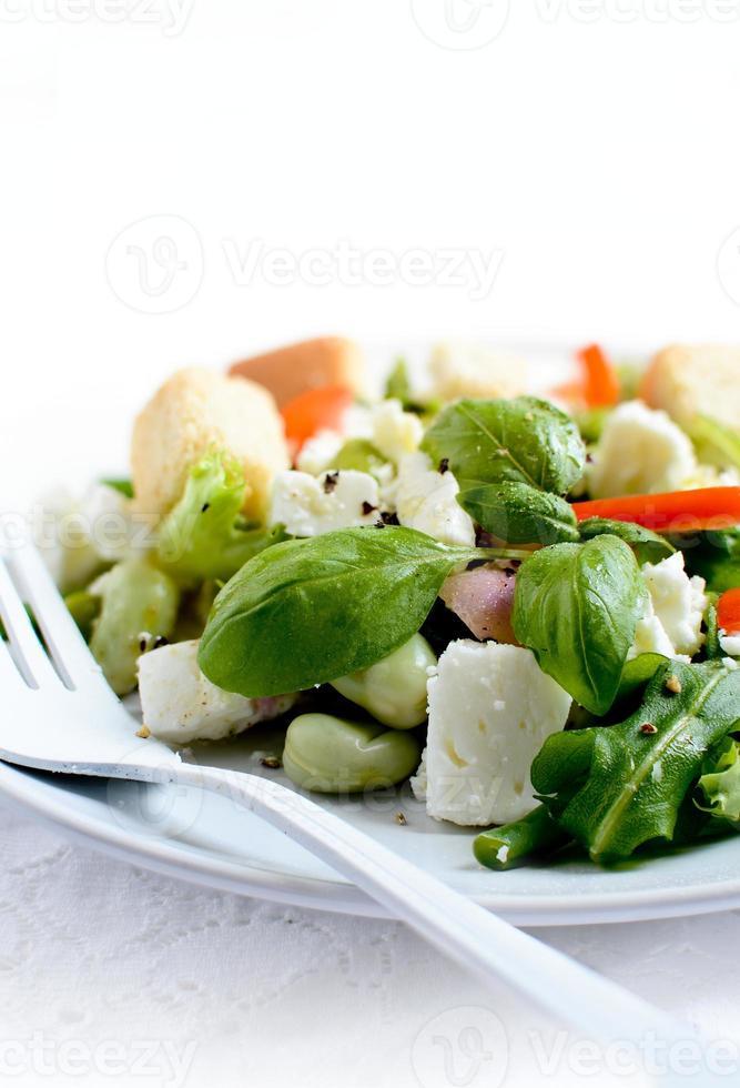 Feta Cheese And Endamame Bean Salad photo