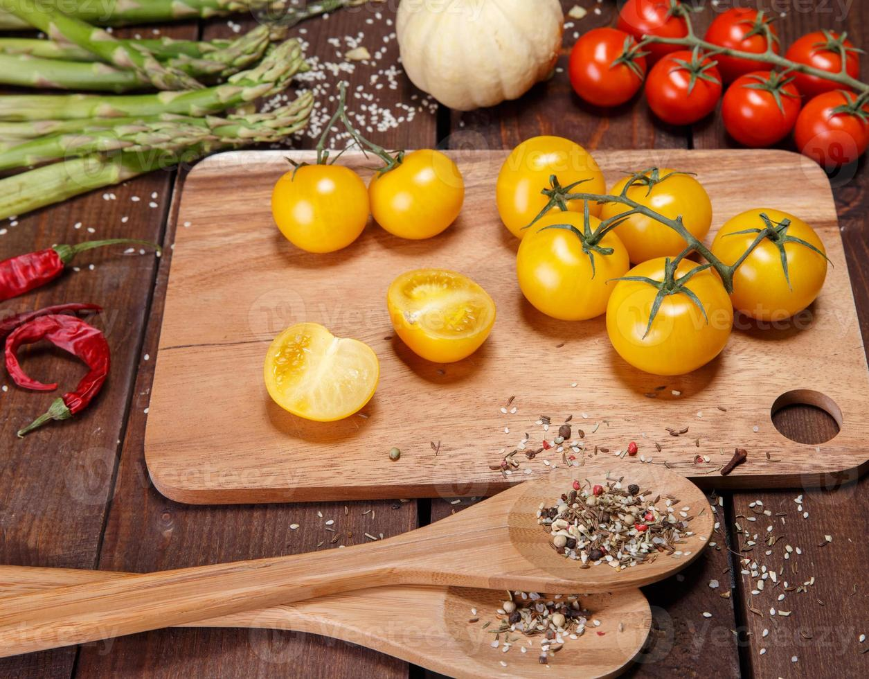 vegetables and spices photo