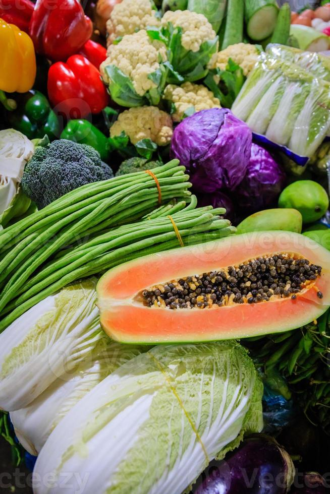 Fresh Fruits and Vegetables photo