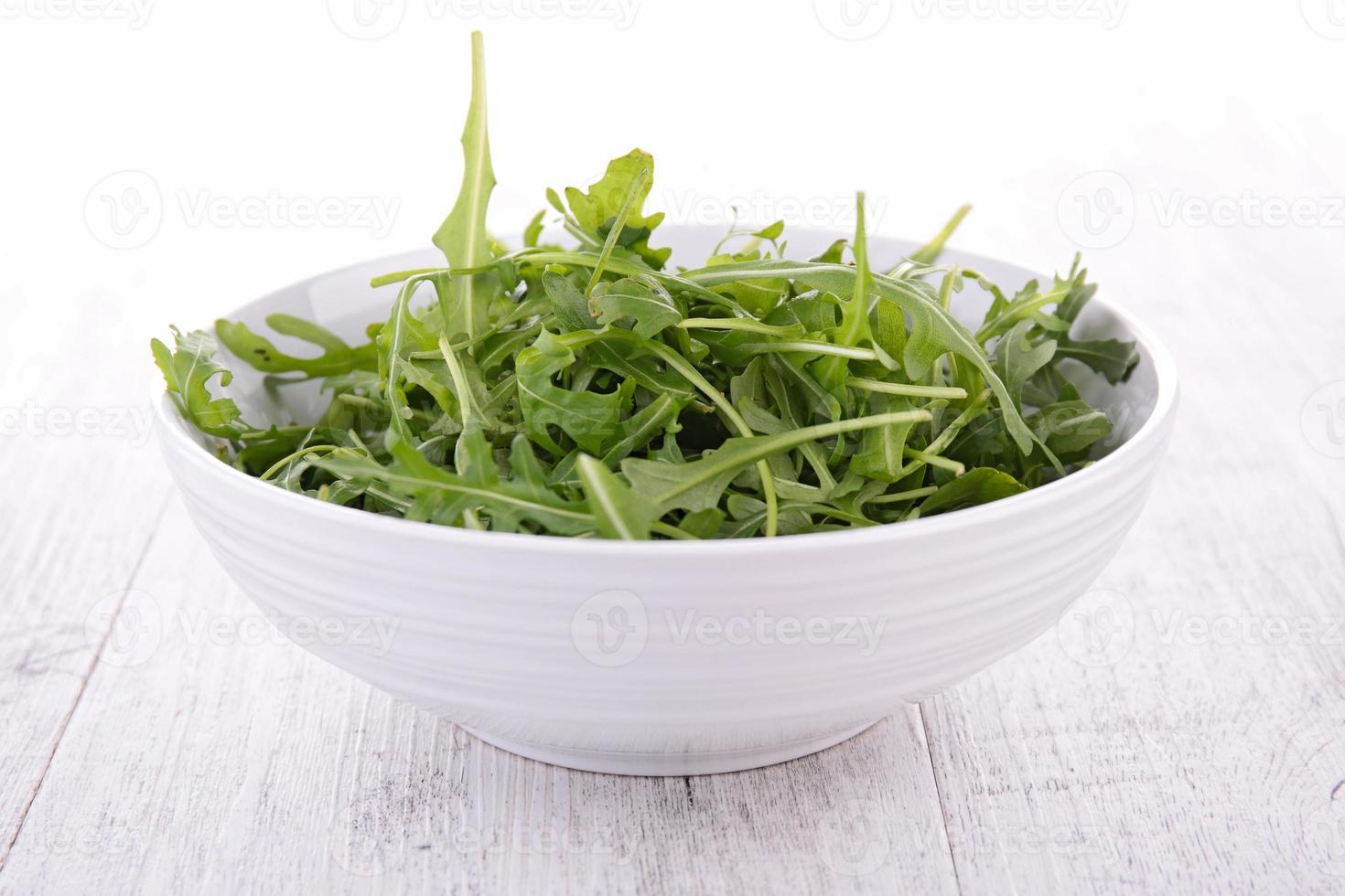 bowl of arugula photo