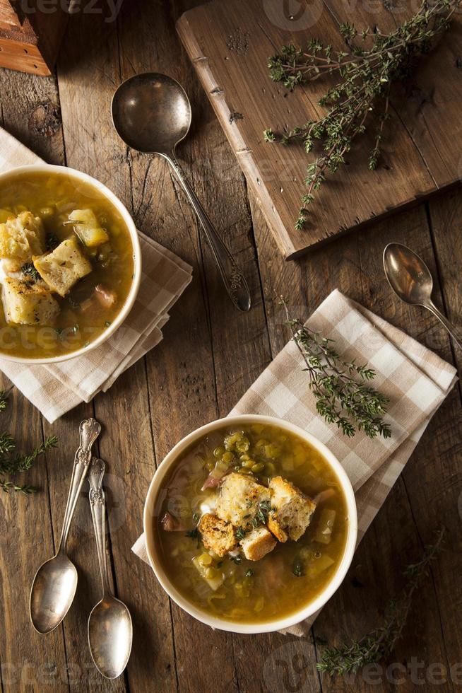 Homemade Split Pea Soup photo