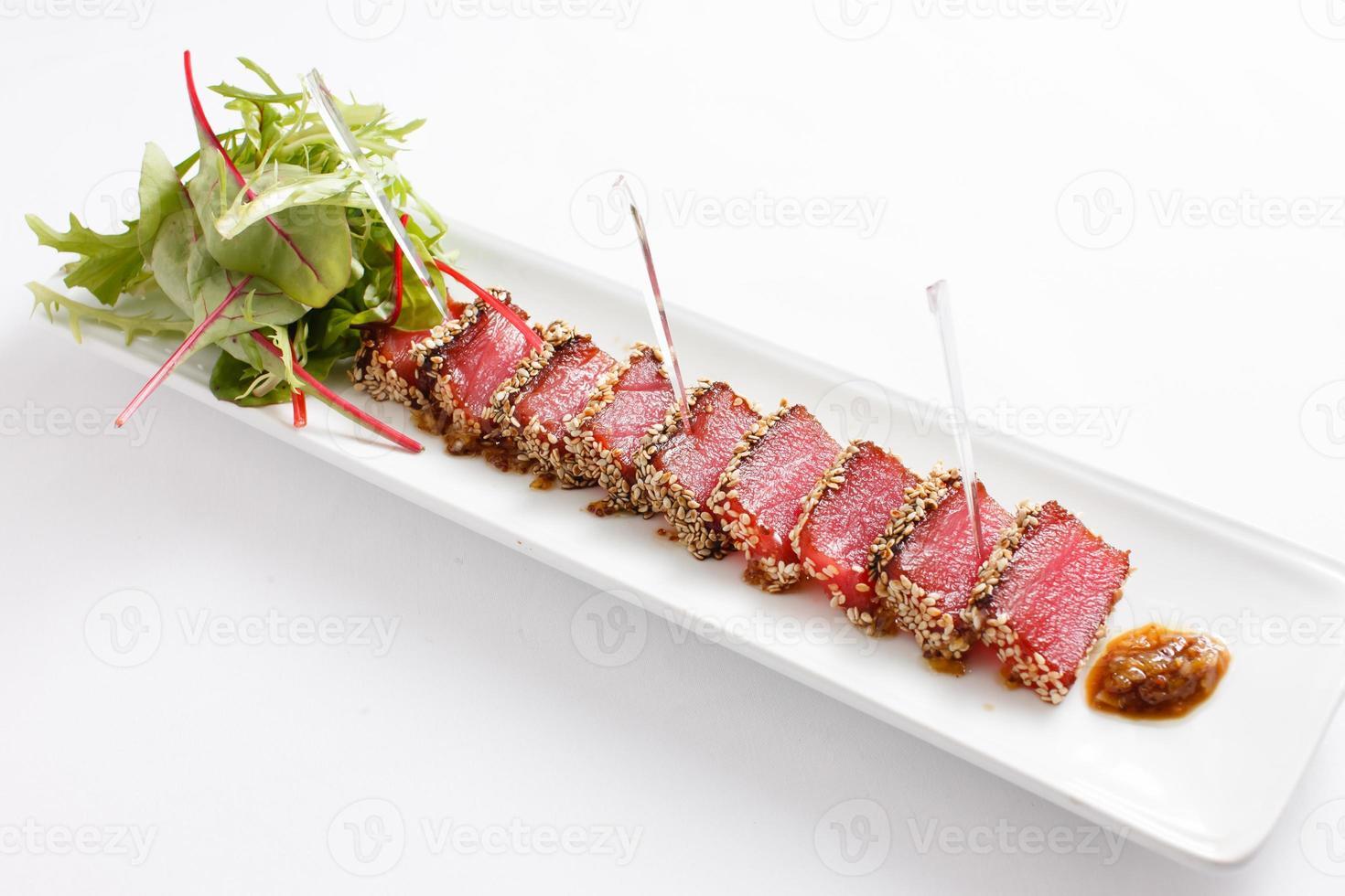 tuna appetizer photo