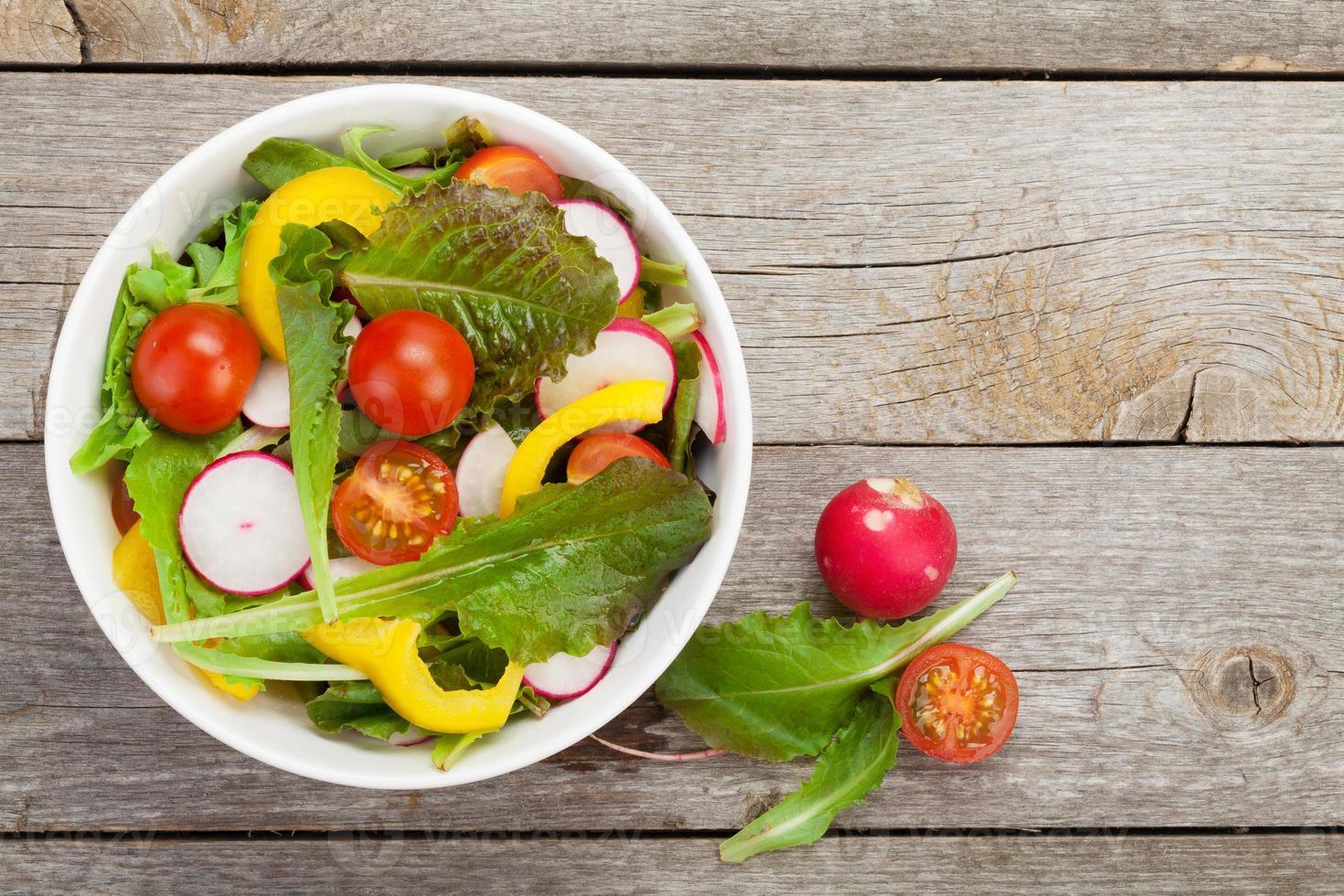 Fresh healty salad photo
