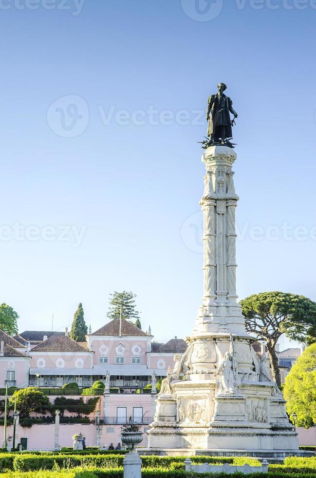 Plaza de Alfonso de Albuquerque, Lisboa, Portugal foto