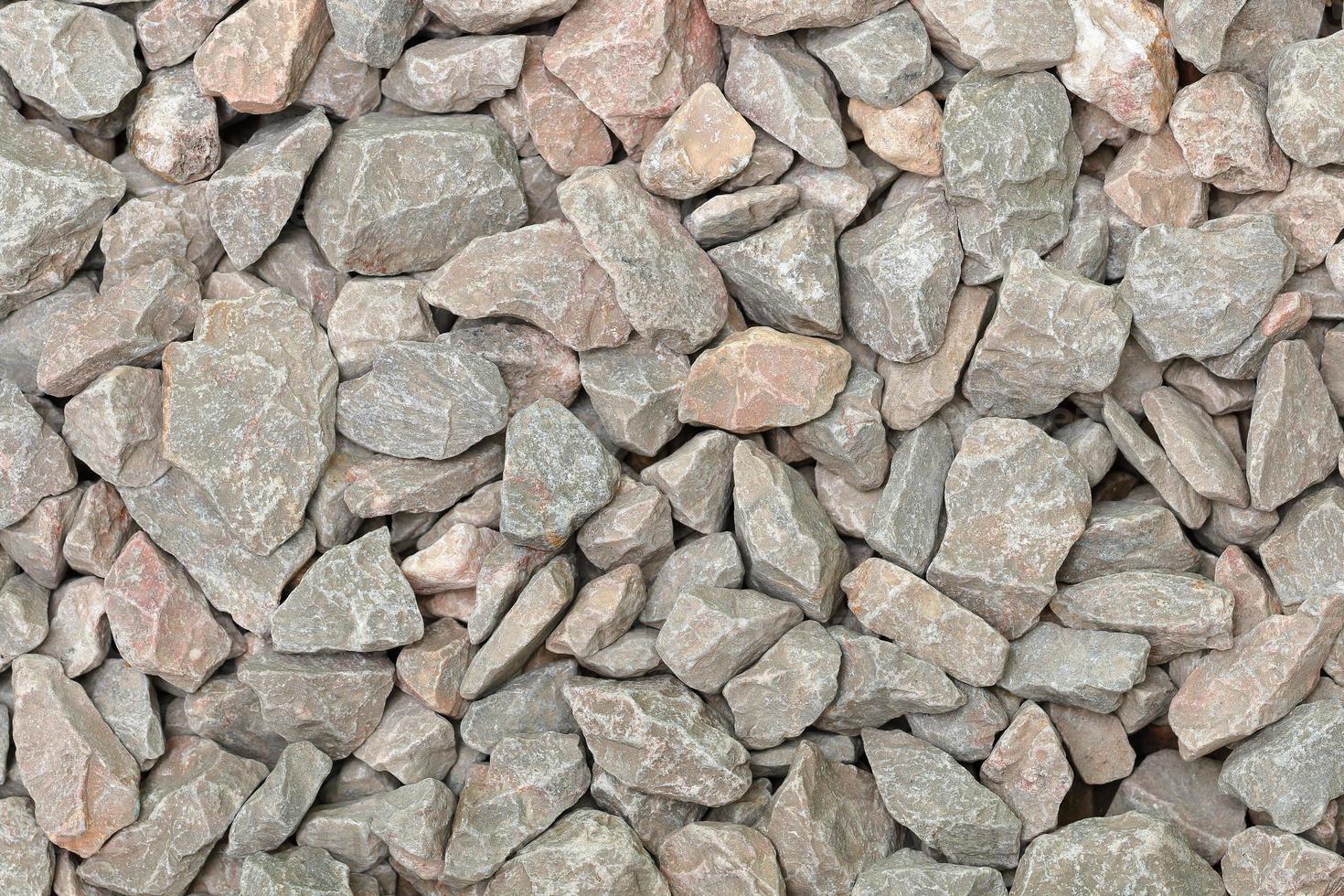 roca metamórfica para mezclar hormigón foto