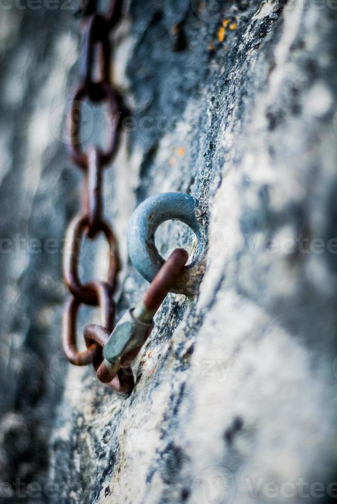 Chain, Climbing, Rock photo