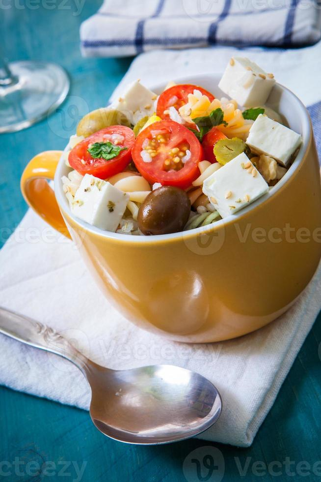 Pasta salad photo