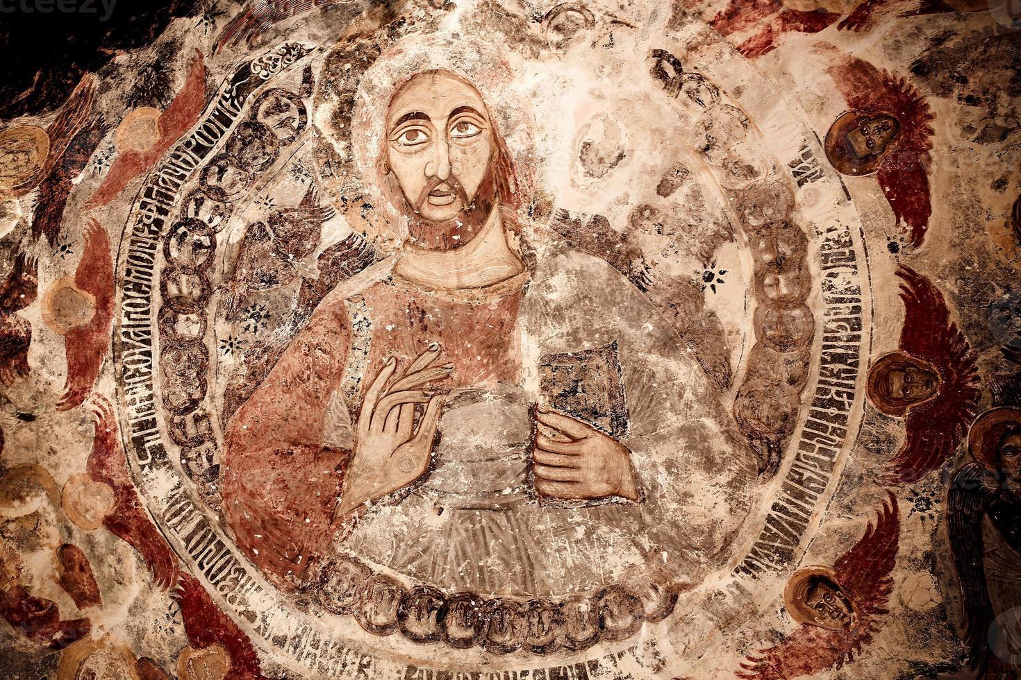 fresco del monasterio de sumela foto