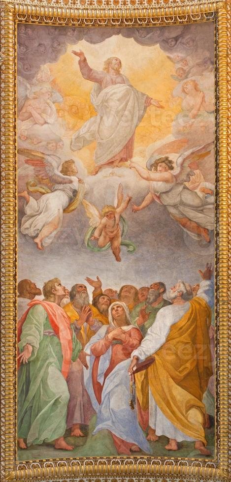 Rome - Ascension of the Lord fresco photo