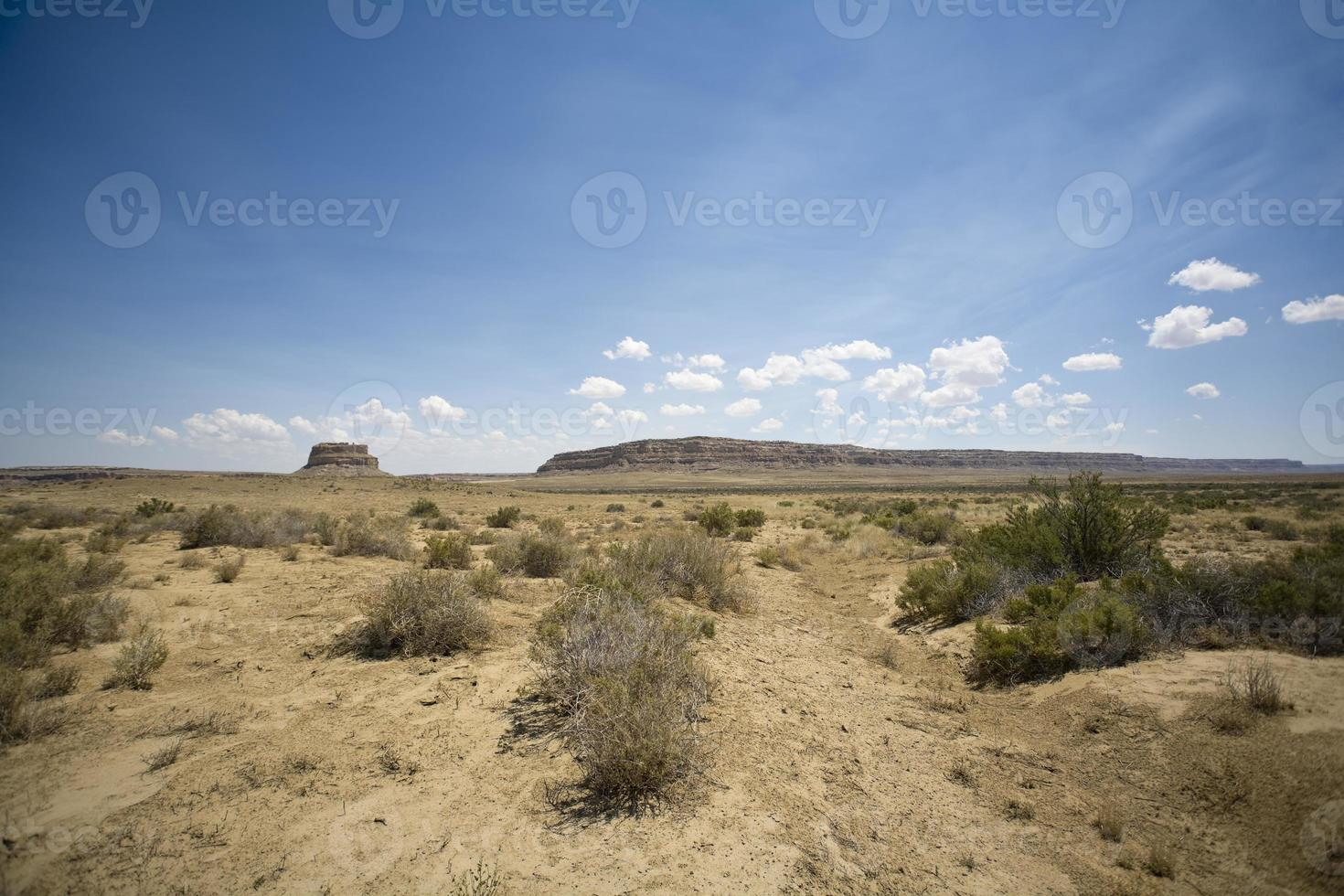 mesa del desierto de nuevo mexico foto