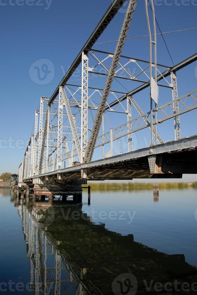 puente americano rural foto