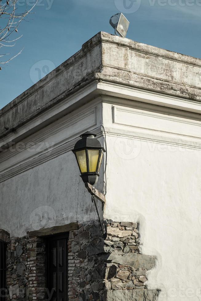 casco antiguo de colonia del sacramento foto