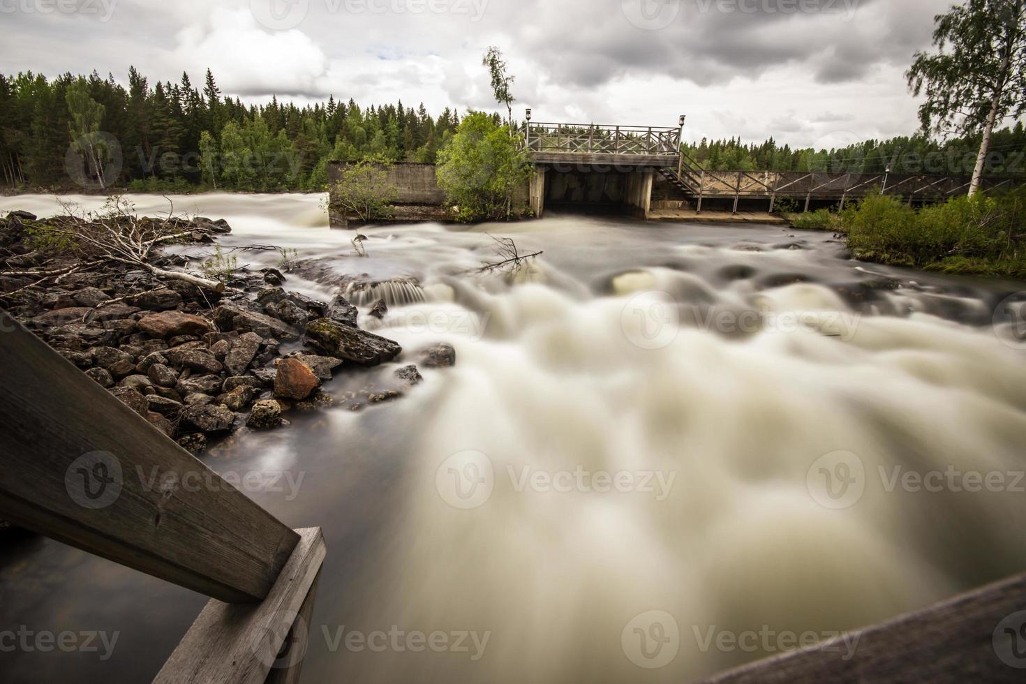 río salvaje foto