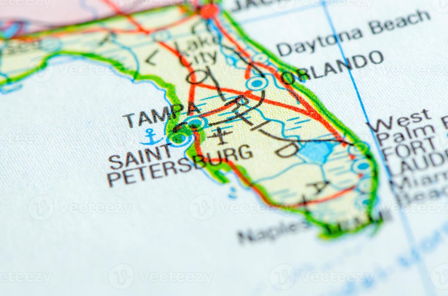 Florida map photo