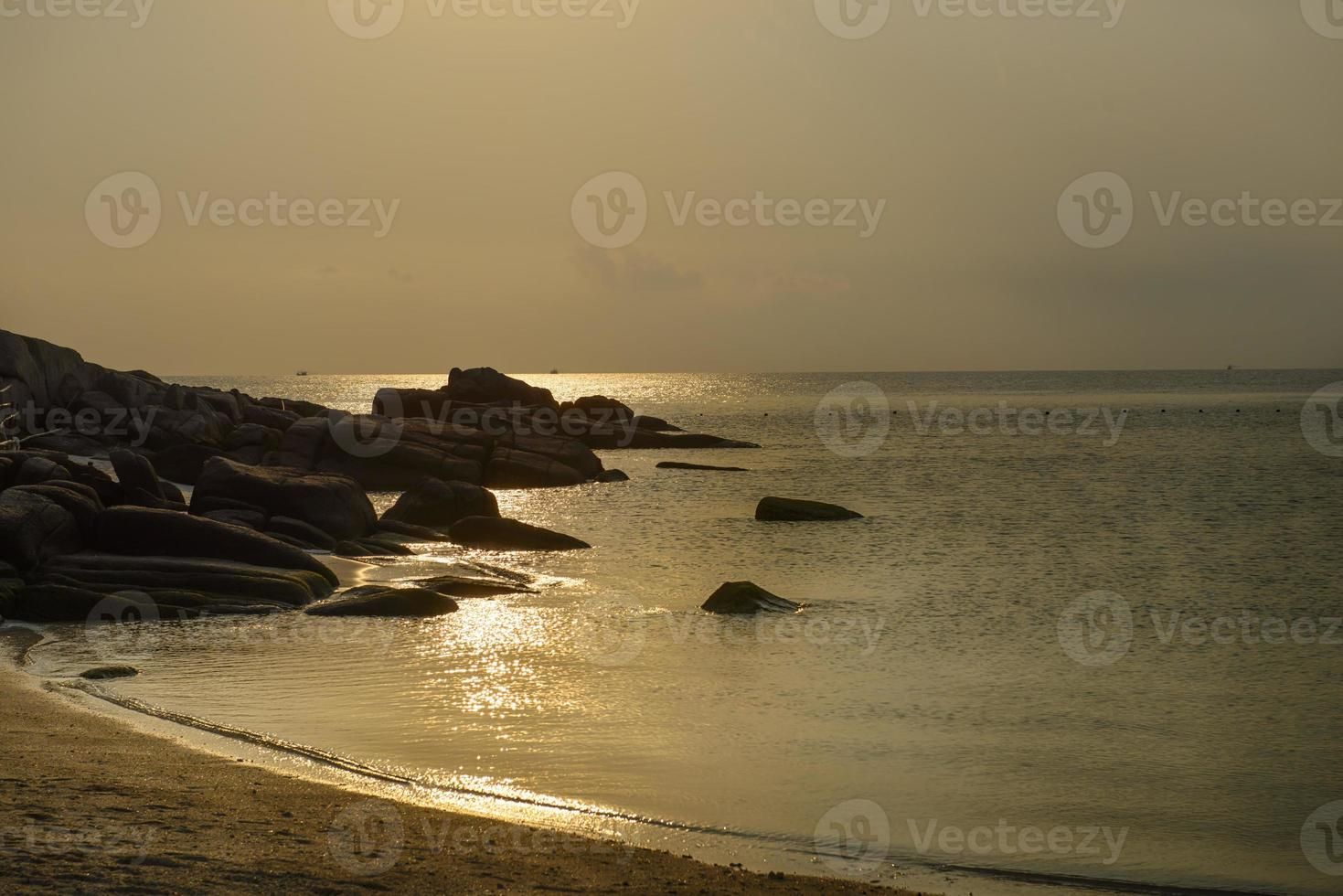 Isla de koh nang yuan, surat, Tailandia foto