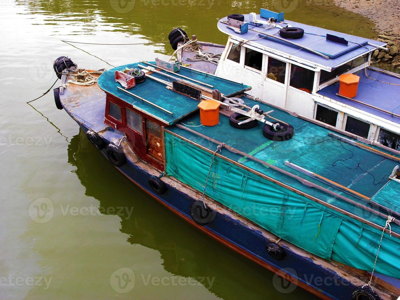 River scene in Singapore photo