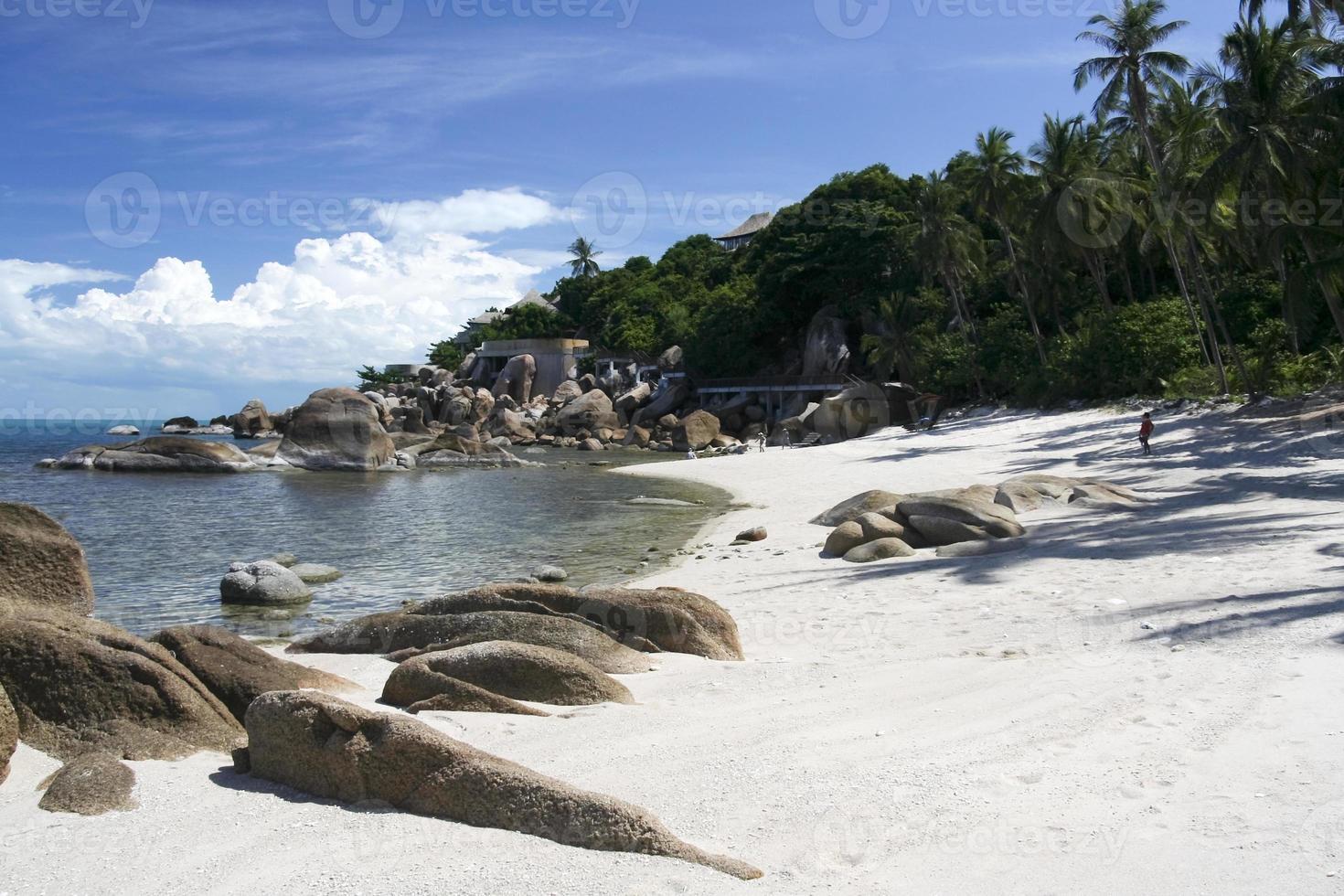 luxury resort beach koh samui thailand photo