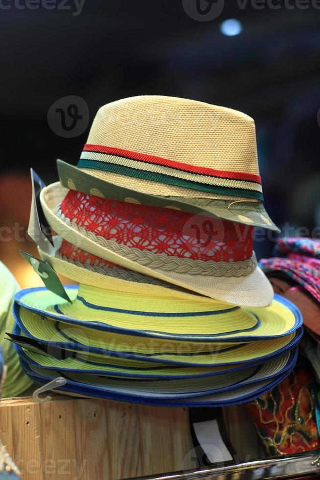 sombreros femeninos de verano foto