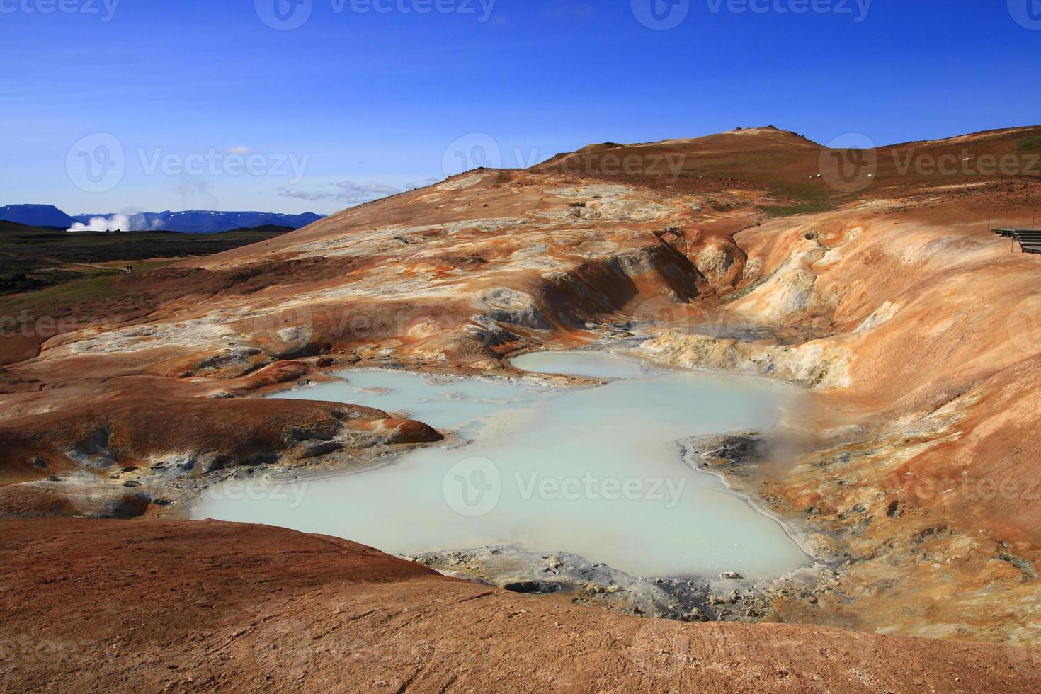 el campo de lava de leirhnjukur foto