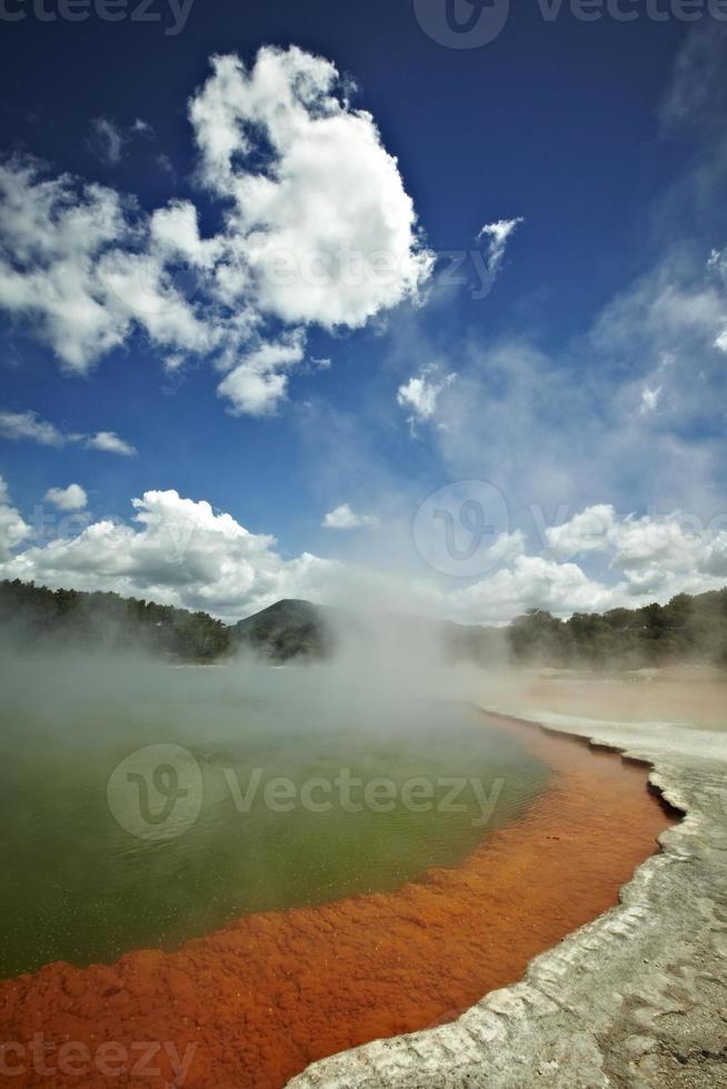 lago termal foto