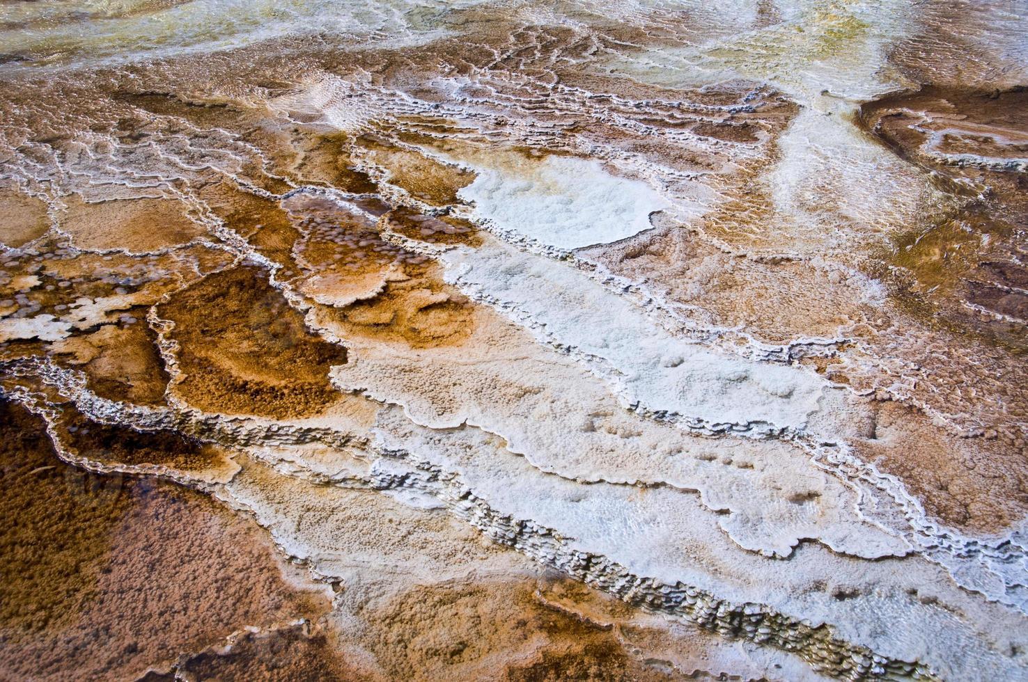 parque nacional de yellowstone resumen de aguas termales foto