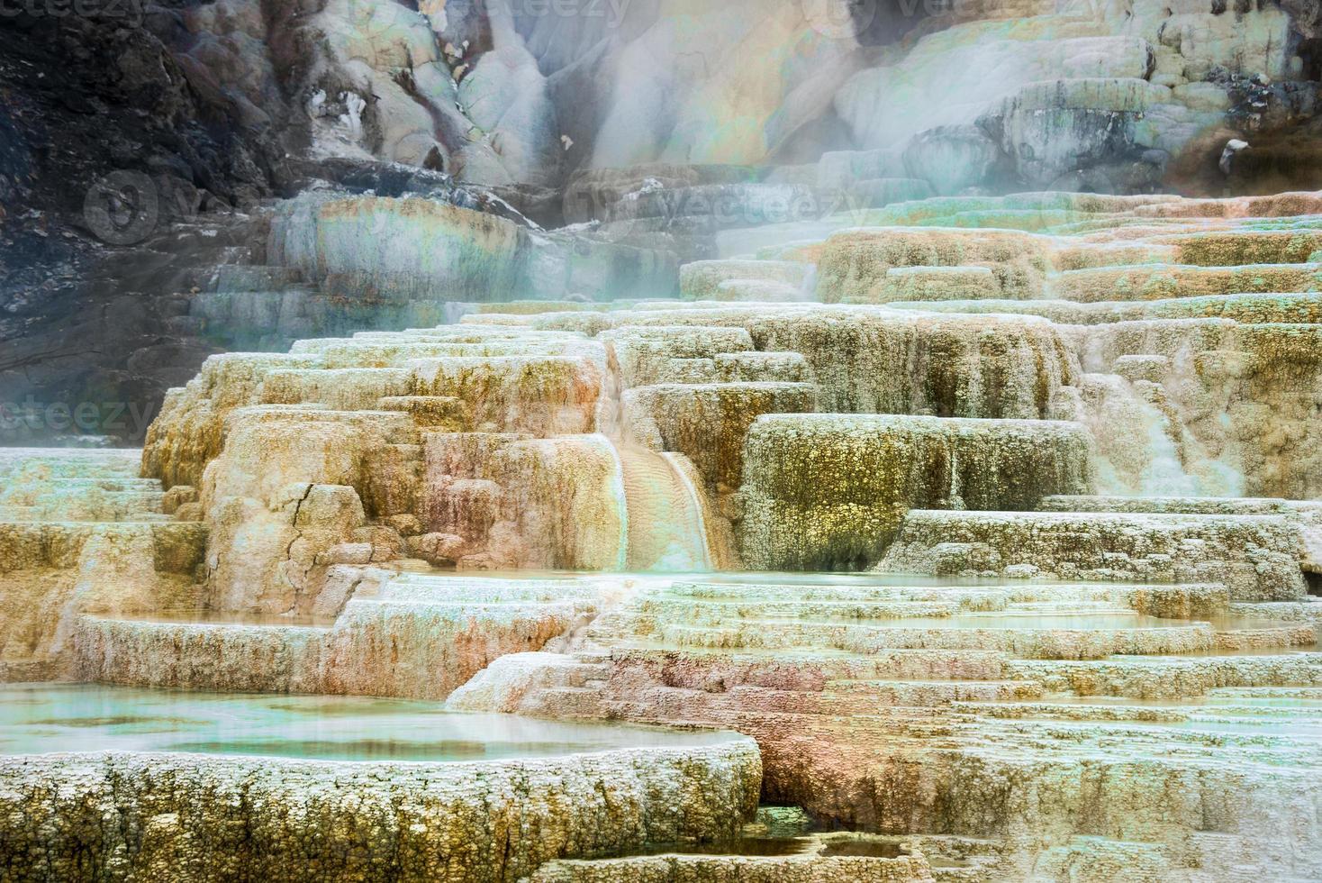 Mammoth Hot Springs foto