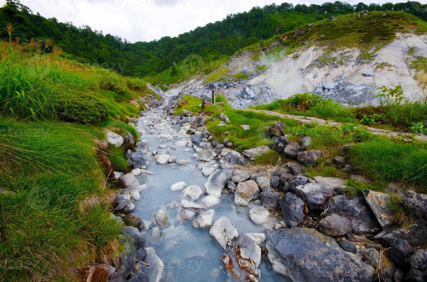 aguas termales de tamagawa foto