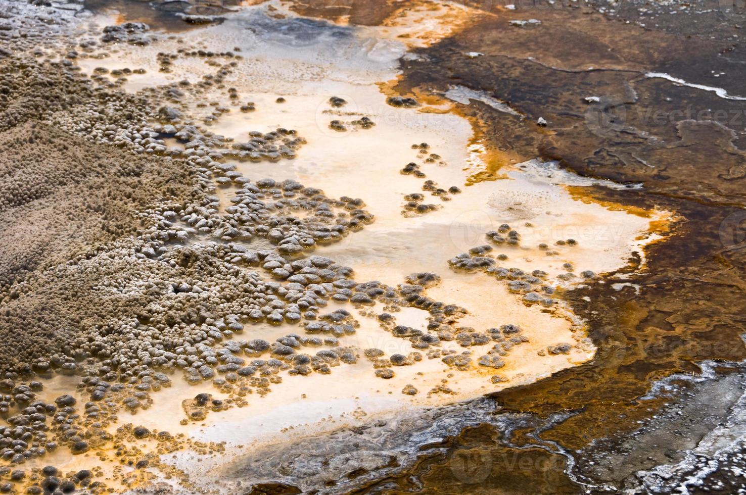 cuenca superior del géiser, parque nacional de yellowstone, estados unidos foto