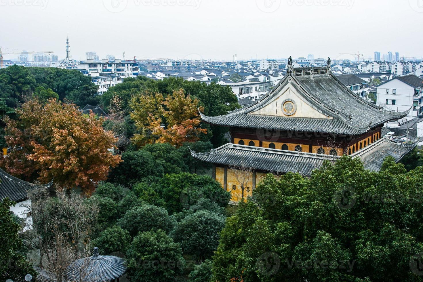 Templo de Suzhou foto