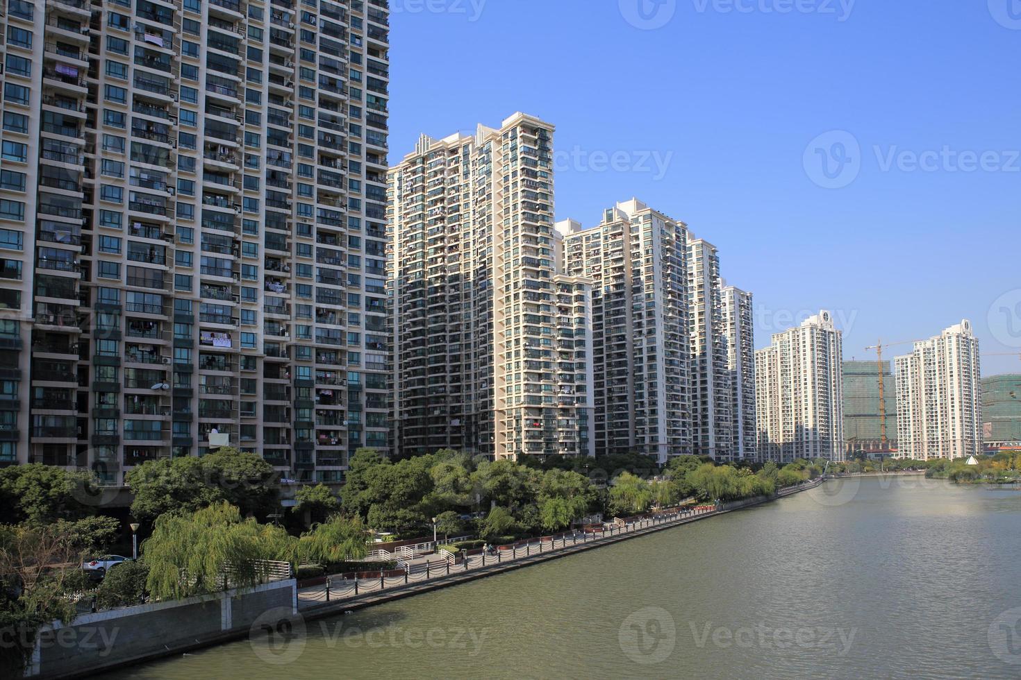 apartamentos del parque del río Shangai Suzhou foto