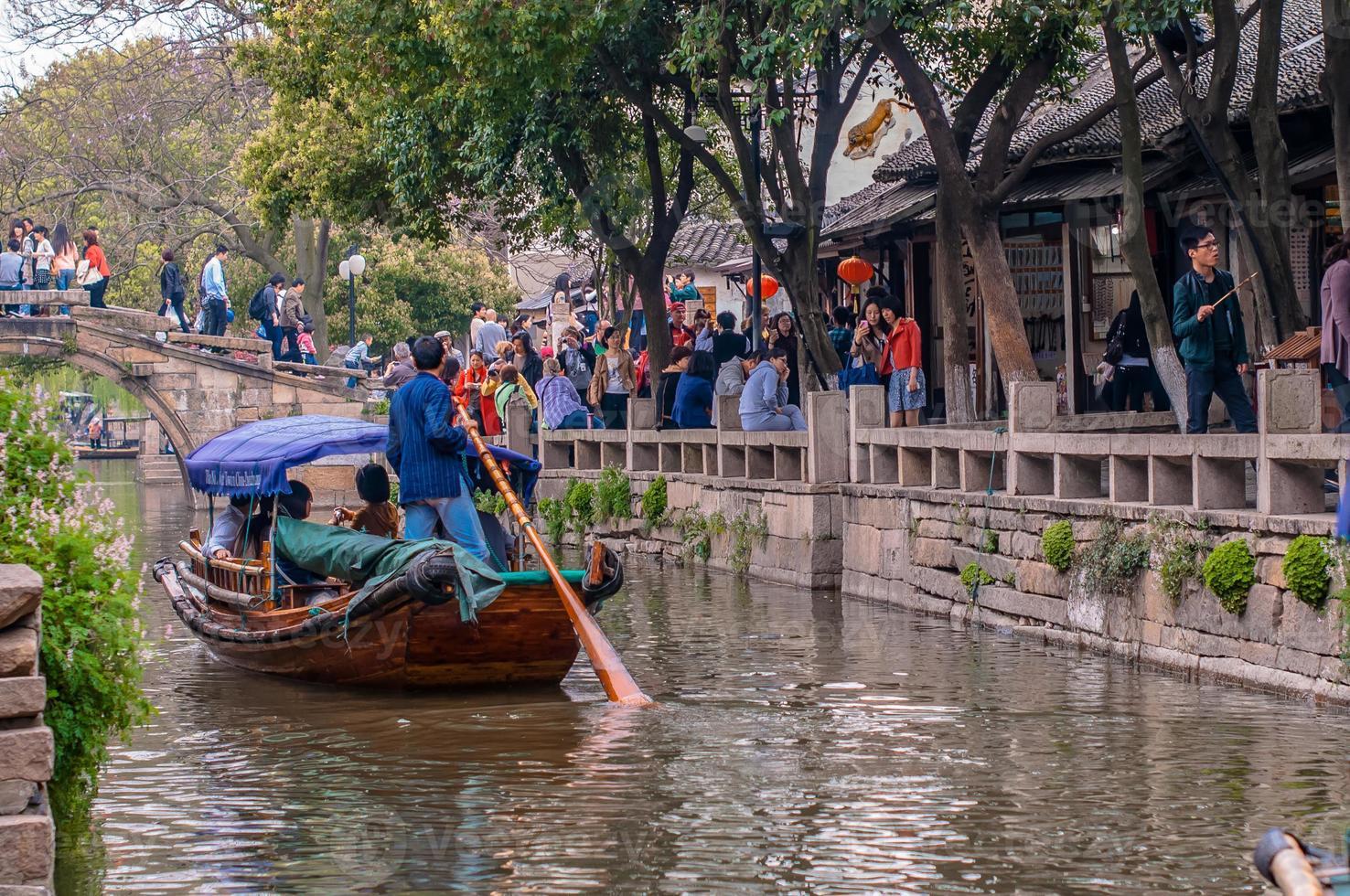 pueblo de agua más antiguo de china foto