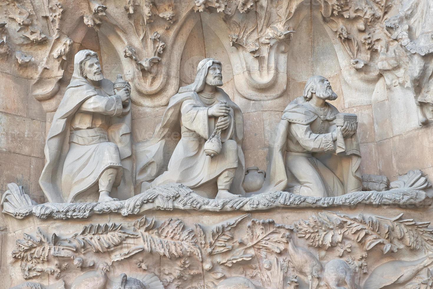 Exterior of Sagrada Familia photo