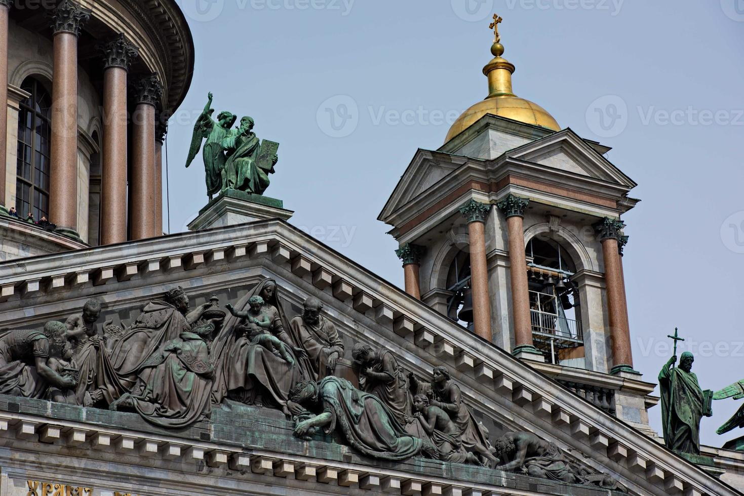 Saint Isaac's Cathedral in St Petersburg, Russia photo