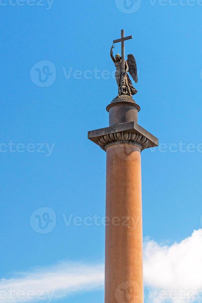 Alexander Column in Saint Petersburg photo