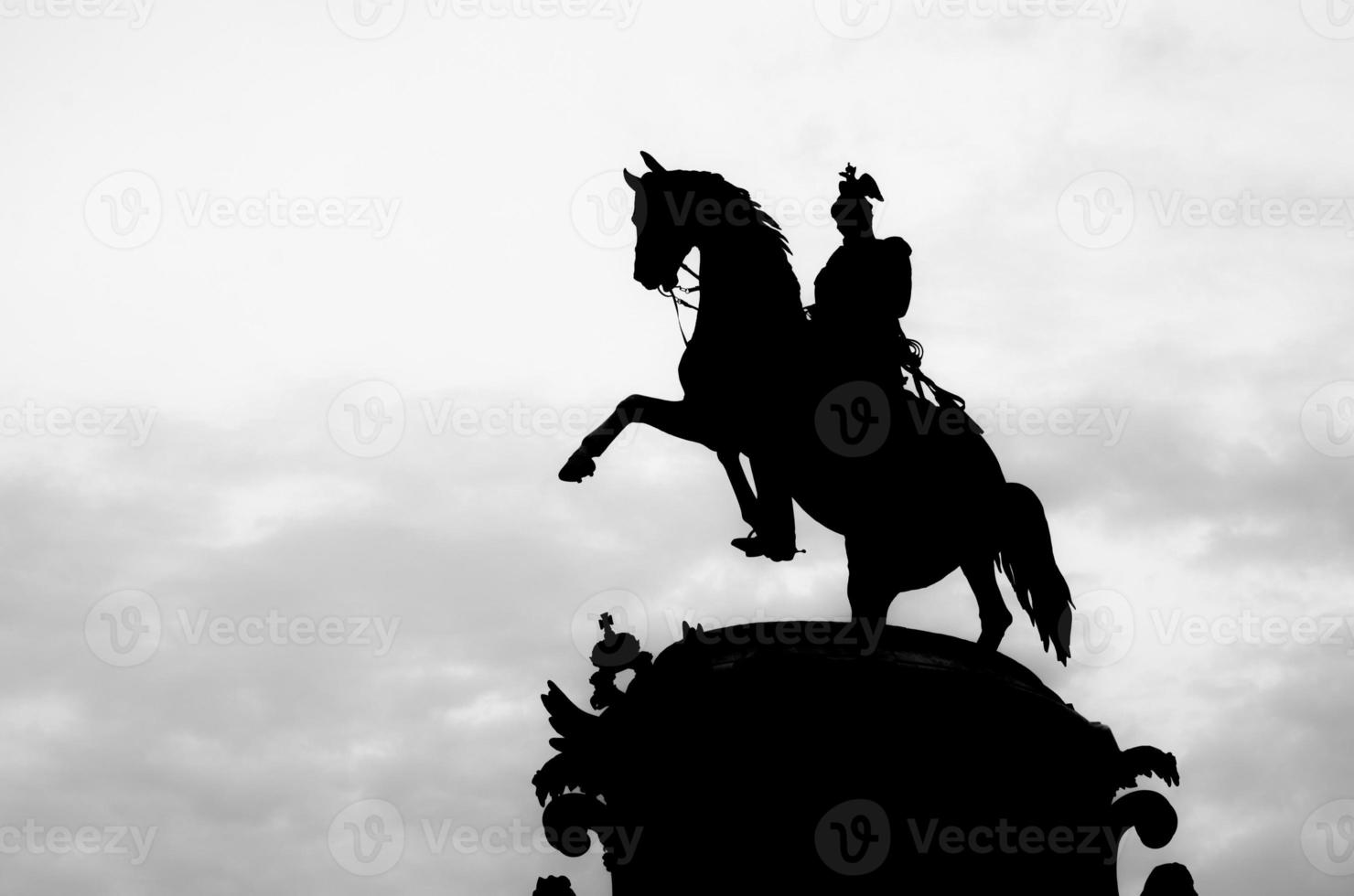 Monument to Nicholas I (St. Petersburg, Russia) photo