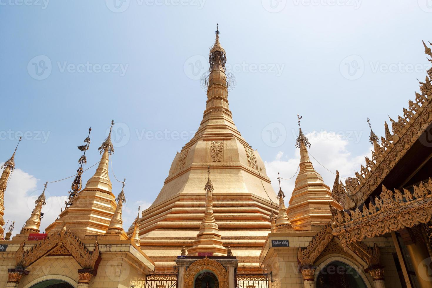 Sule pagoda in Yangon, Burma (Myanmar) photo