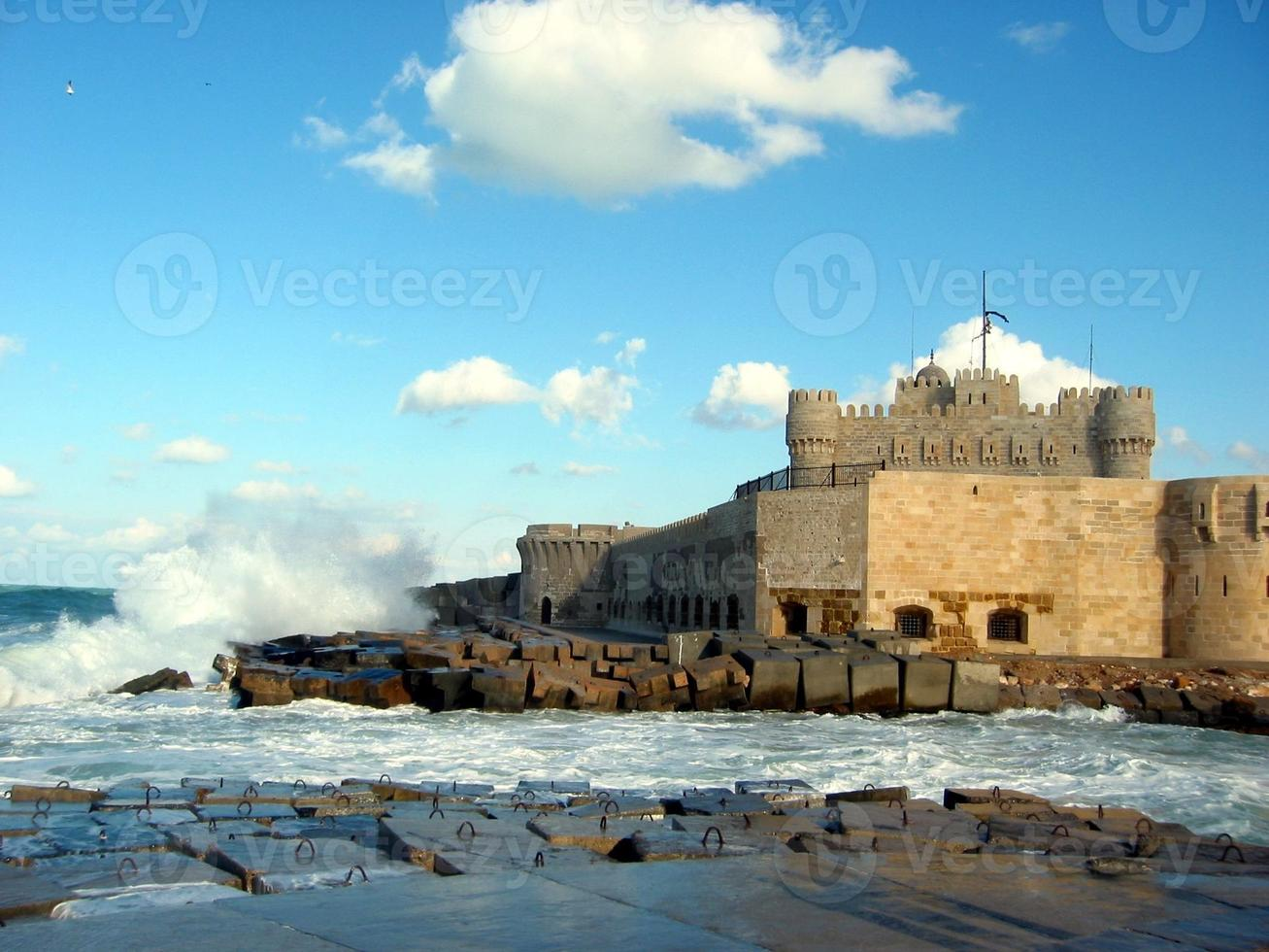 Castle and Waves photo