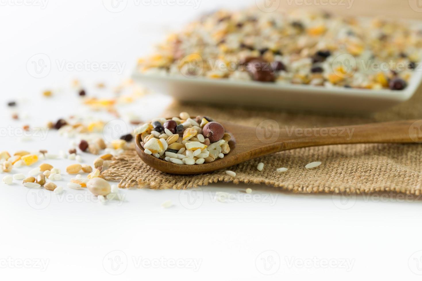 Healthy grains photo