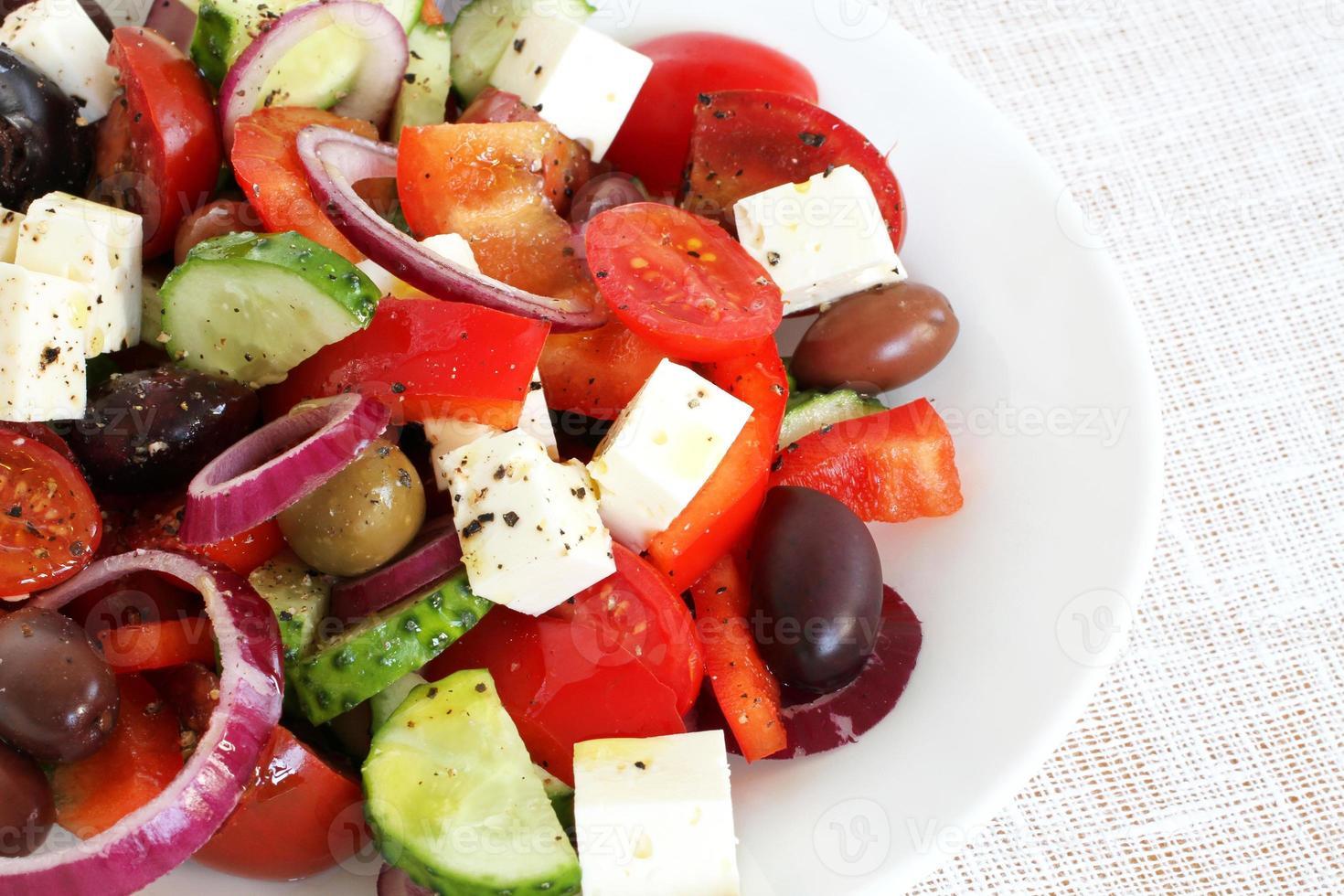 ensalada griega foto