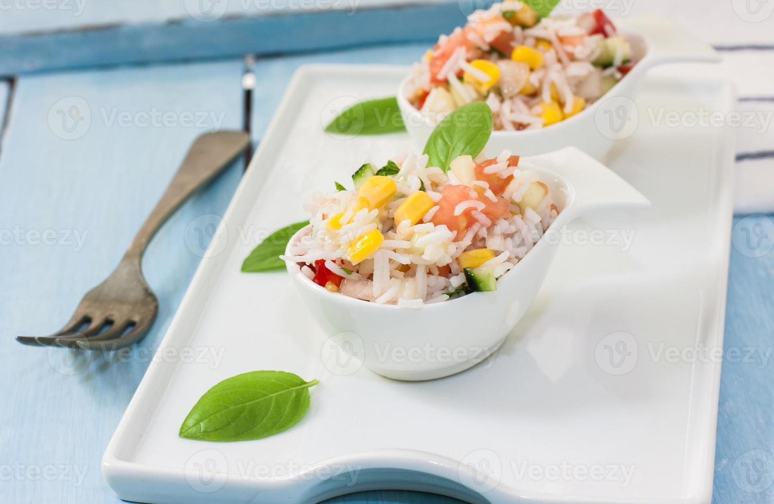 Rice salad photo