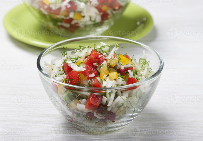 Vegetable salad. photo