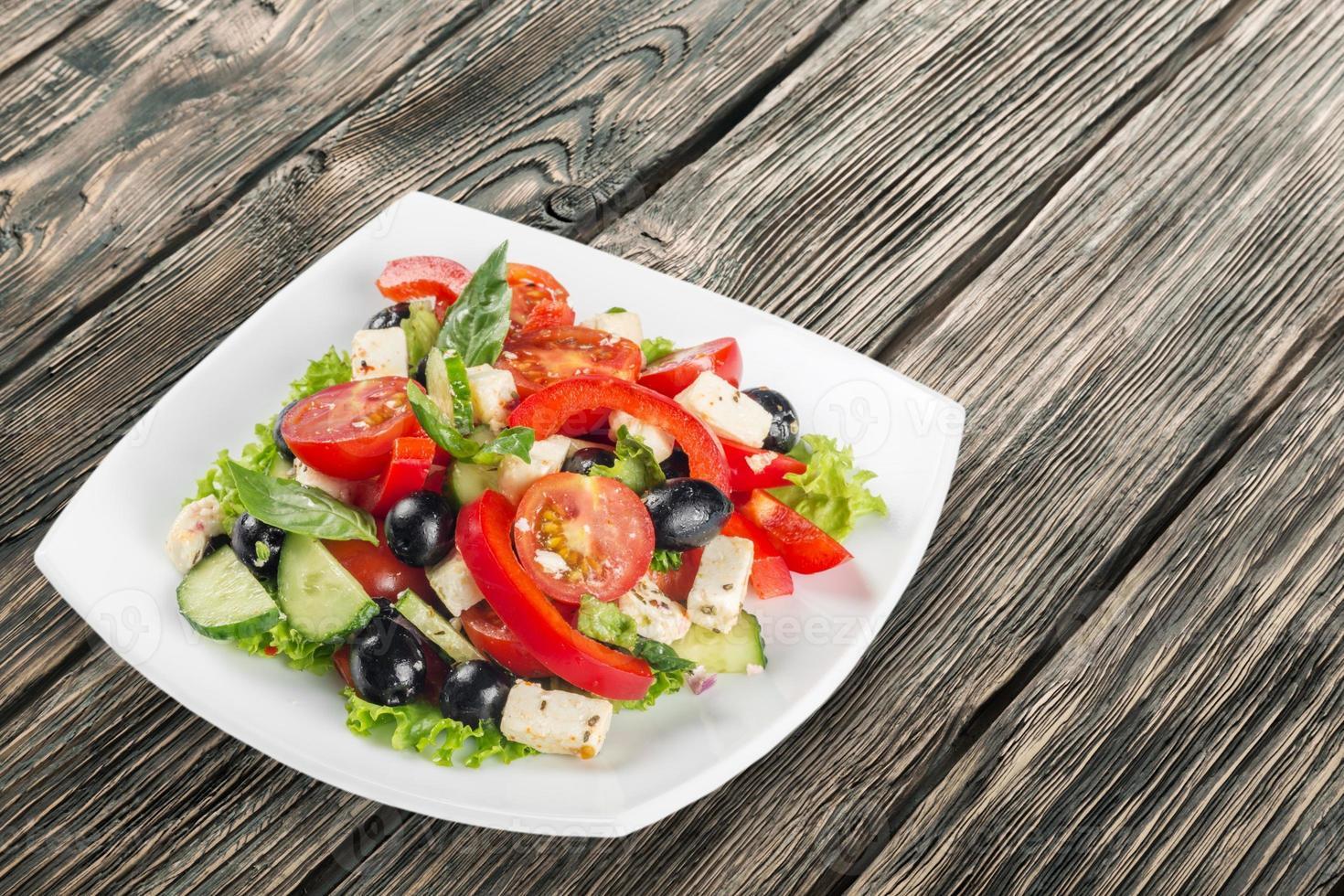 Salad, food, onion photo