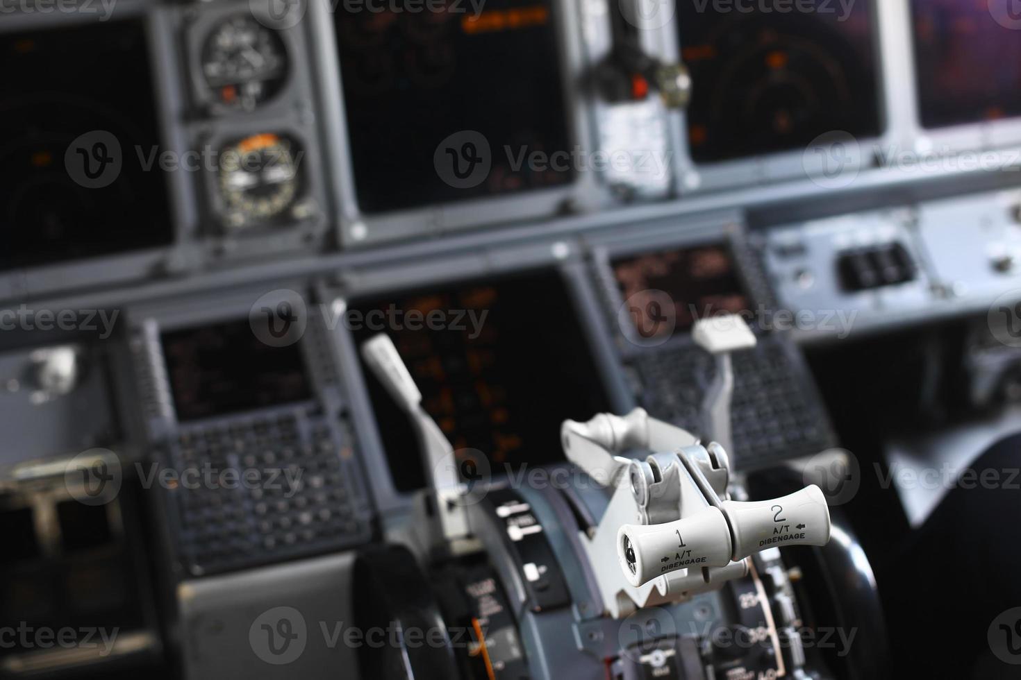 panel de control plano foto
