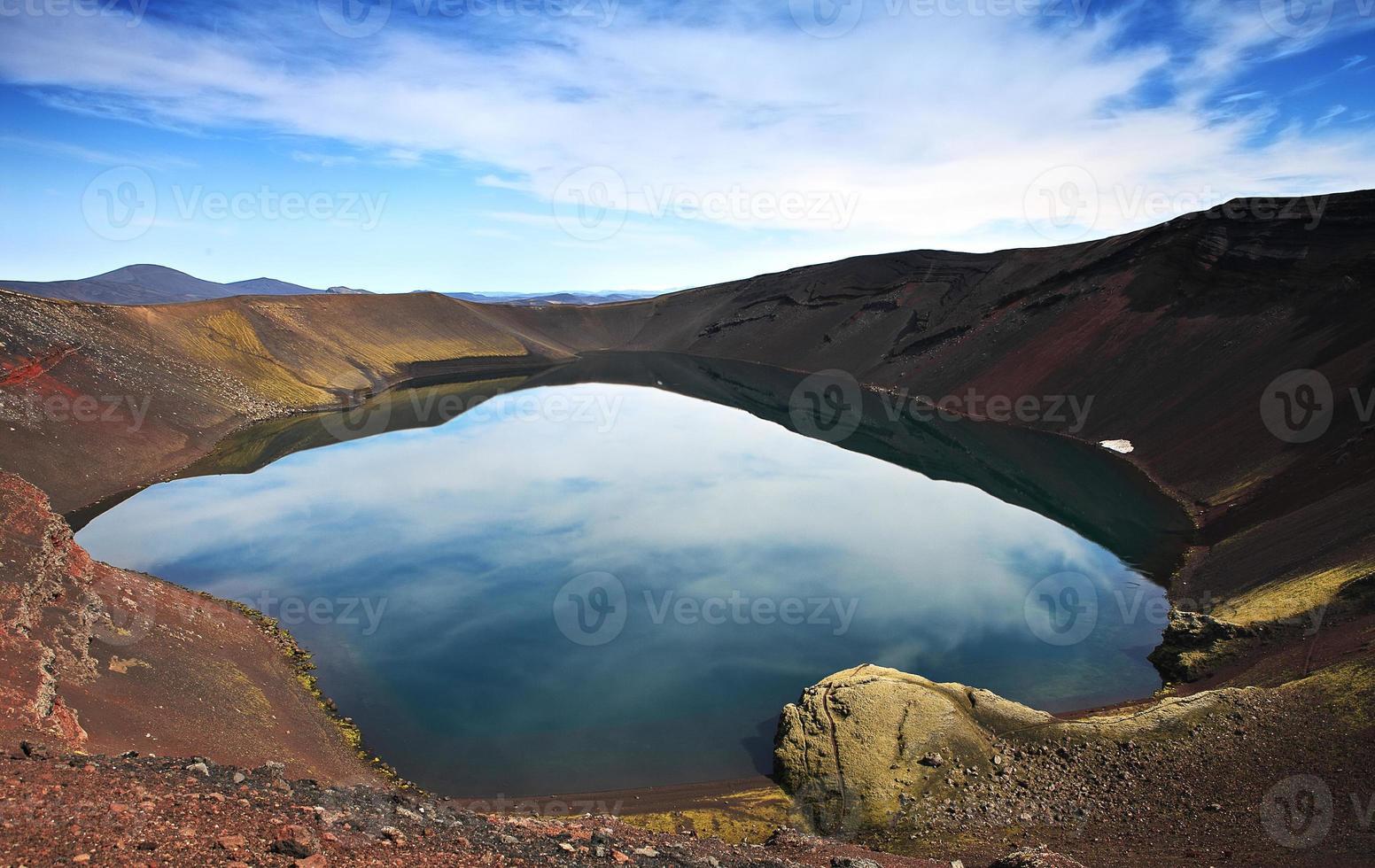 paisaje islandés foto